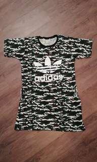 Adidas camo dress big size