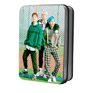 EXO CBX 2nd Mini Album 💕 Blooming Days Lomo Card with tin case