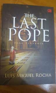 Novel The Last pope by Luis Miguel Rocha