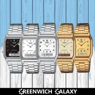 Casio Vintage Dual Time Ana-Digi Watch (AQ-230 Series)