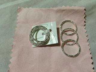 6 pcs stack rings - Size 6