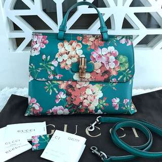 Gucci Printed Floral Satchel
