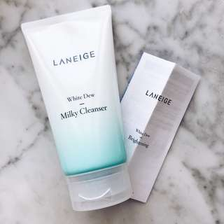 (New) LANEIGE White Dew Milky Cleanser 150ml