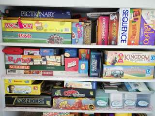 Board Games for Rental