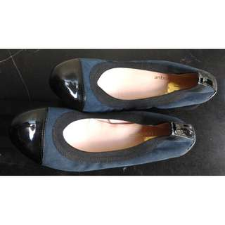 Barrila Boutique Flex Ballet Flat Navy Blue