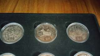 Singapore Mints Coins