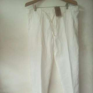 Celana Cotton Salt And Papper Size 32 Masih Baru