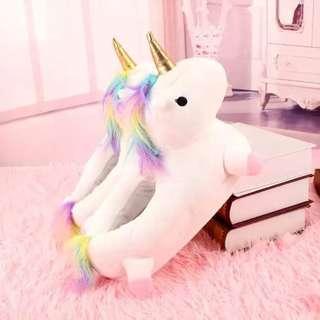 Unicorn House Slipper (Include Pos)