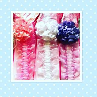 Baby Girl - Headband Set 3 in 1 Hair Accessories