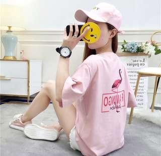 Flamingo Oversized Shirt