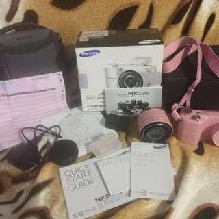 Samsung NX2000 (Pink)