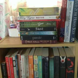 Pre-Loved Books (See Price List at Description)