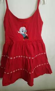 Chicken Little Red Dress