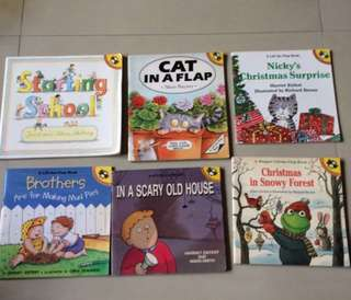 6 books puffin English reader #bundle 2