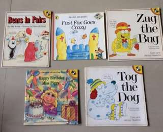 6 books Puffin English readers #bundle 1