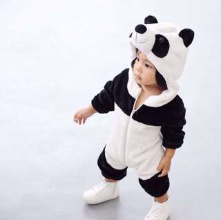 Kids PANDA Romper Suit