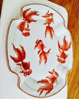 19th century glazed porcelain plate