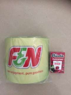 F&N straw holder, New