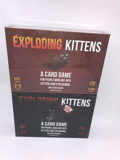 Exploding Kittens Original and NSFW Edition