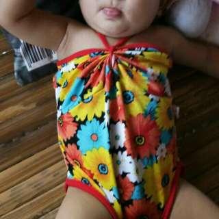 Floral Baby Onepiece Swimsuit