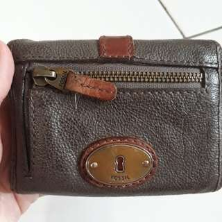 Preloved Fossil Genuine Leather