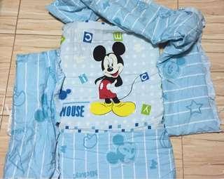 Crib Bumper Sheet Mickey Mouse