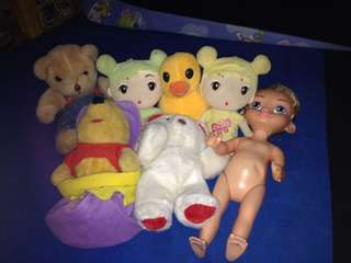 Stuff toys all for only 250