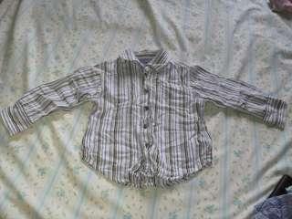 Stripe Blue Long sleeves