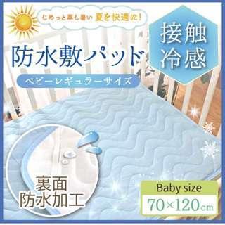 日本直送bb床冷感防水涼墊
