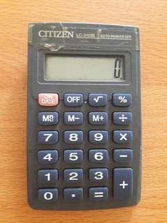 Preloved Kalkulator Abu2 Kecil