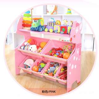 2 Level deer toy shelf
