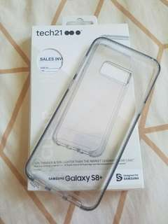 samsung galaxy s8+ tech21 drop protection cover