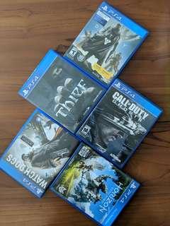 PS4 Game (Read Description)