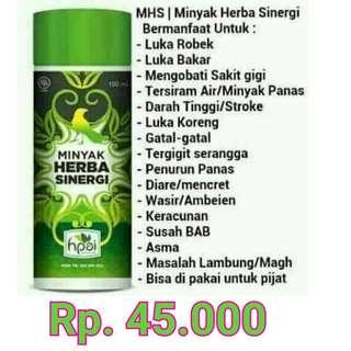 Minyak Herbal Sinergi (MHS)