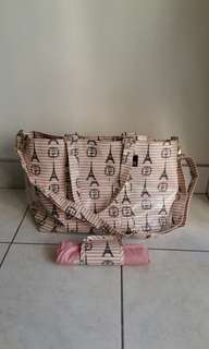 Rootote diaper bag