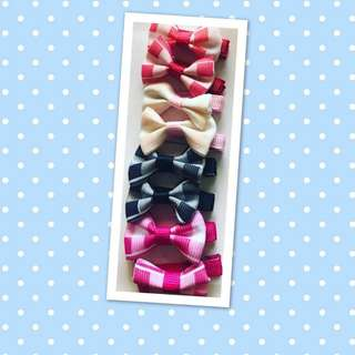 Hair Clips (4 pairs) - Baby Toddlers Hair Accessories