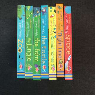 #In Stock# Usborne Peep Inside Series