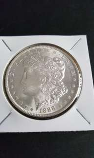 U.S Morgan silver Dollar. 1888