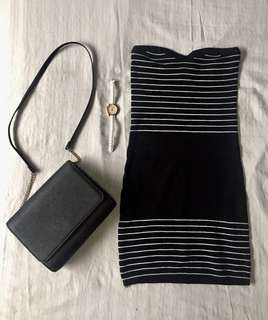 Brand New Black Bodycon Dress