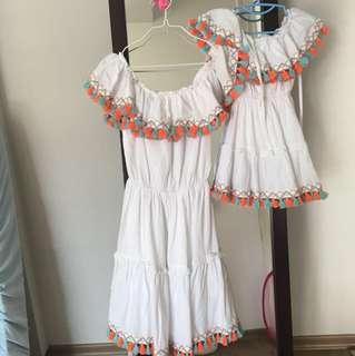 Twinning Mummy & daughter dresses!!!