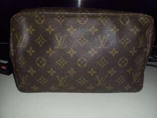 Vintage LV monogram toiletry pouch