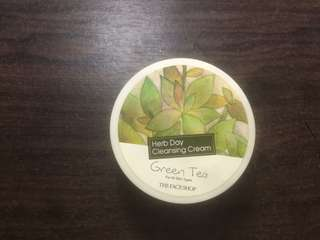 [ SALE!!!! ] THE FACE SHOP GREEN TEA CLEANSING CREAM