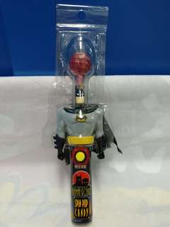 絕版全新 CHUPA CHUPS 珍寶珠 × THE ADVENTURE OF BATMAN & ROBIN BATMAN SPIN POP CANDY 1 件