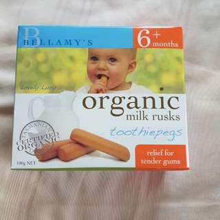 Bellamy's Organic Toothiepegs