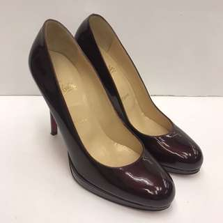 🈹Christian Louboutin Patent Leather High Heel