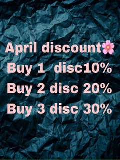 April discounttt