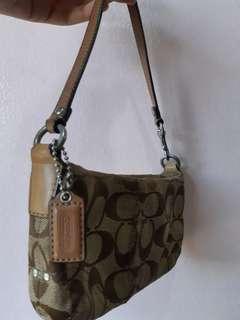 Original Coach wristlet bag
