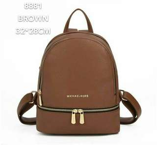 Michael Kors Backpack Brown Color