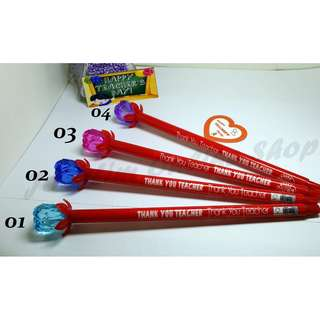 Rose Water-Based Needle Pen For Teacher's Day