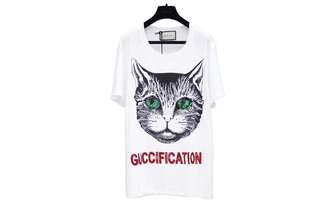 GUCCI SEQUIN GUCCIFICATION TSHIRT